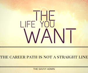 career path not a straight line