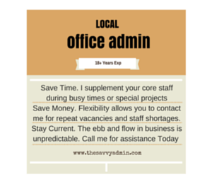 local office admin baltimore md
