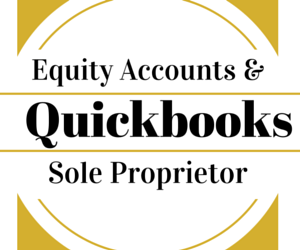 quickbooks set up equity